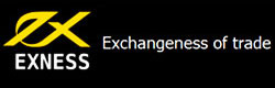 Логотип EXNESS